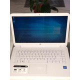 Notebook Hp Con Cargador Impecable!!