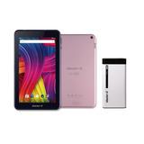 Kit Tablet Master G Sense 701 Pink + Powe Bank 10.000 Mah