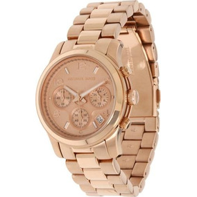 Relógio Michael Kors Mk5128 Rose Gold Runway - Relógios De Pulso no ... 71989b13db