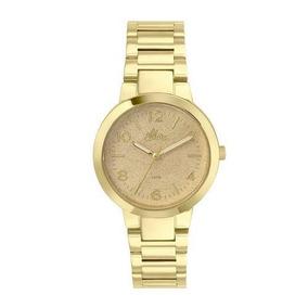 Relógio Allora Encanto Da Sereia Al2035fan/4d Dourado