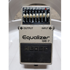 Pedal Boss Ge-7 Equalizer - Conservadao, Black Label!!!