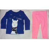 Conjunto Pijama Niña Talla 9 Y12 Meses - Marca Carter´s