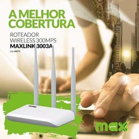 Roteador Wireless Maxlink 300 3a