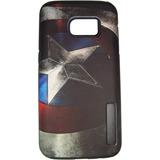 Protector Antigolpe Samsung S6 Capitán América