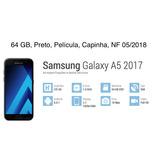 Samsung Galaxy Duos A 5 2017 Black 64 Gb C/ N F.