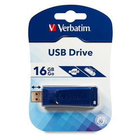 Memoria Usb Store N Go 16 Gb Azul Verbatim 97275