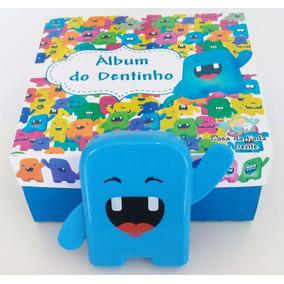 Kit Da Fada Do Dente! Álbum Dental! Fada Do Dente