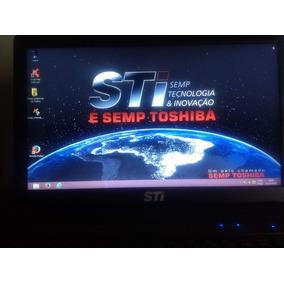 Notebook Semp Toshiba Sti Ni1401 Memoria 4gb Hd 500gb