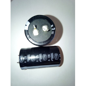 Capacitor 10000 Mf 63v X2 Unds.