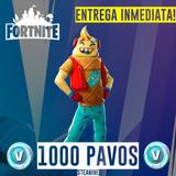Fortnite - 1000 Pavos - Pc/ps4/xbox - Para Todas Las Cuentas