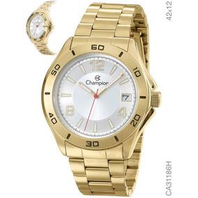 d3a60f533cb Rel Gio Dourado Masculino Champion Ch22831b - Relógios De Pulso no ...