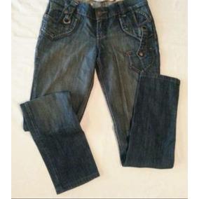 Pantalón De Mezclilla Para Dama Talla 11 Reducido A 9