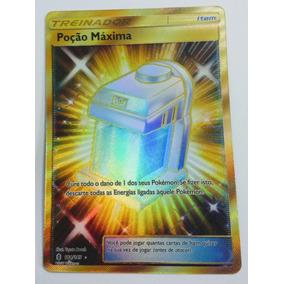 Carta Pokemon Poção Máxima Secreta Rara 164/145
