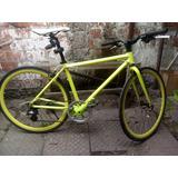 Bicicleta Trinx Amarillo Fluor (con Cambios)