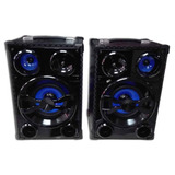 Parlante Activo Bluetooth Usb Sd Radio Fm Rojem Hbpa-2065