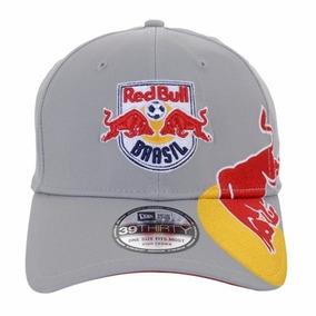 7cb53b5103e8b Boné New Era Red Bull Cinza Champion 59fifty - Bonés para Masculino ...