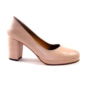45b93a89 Sandalia Nude Taco Palo - Otros Zapatos en Mercado Libre Argentina