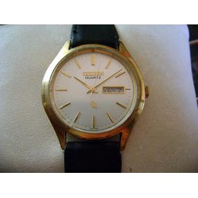 Reloj Citizen Quartz Vintage. Chapa Dorada.