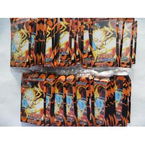 Cartas Naruto - 5 Pacotes Com 4 Unidades Cada