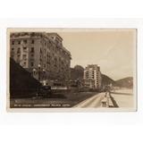 Cartao Postal Copacabana Palace Hotel - Rj - Anos 30