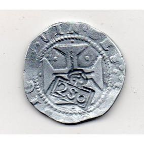 Réplica Carimbo Coroado Sobre 200 Réis D.joão Iiii d39d6524a01b2