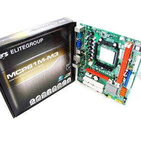Placa-mãe Ecs Mcp61m-m3 Amd Am3 Phenom Ii X4 ( Outlet )
