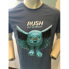 Rush Fly By Night T-shirt M Sleeve Merch Official Import