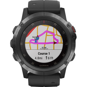 Garmin - Reloj Inteligente Zafiro Fenix 5x Plus - Polímero R