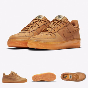 the latest d360d b6482 Zapatillas Nike Air Force 1 Low  Wheat Flax 2017 Original