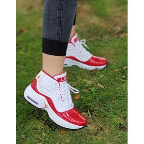 66a0f46e6af2c Zapatillas Jordan Para Mujer Rojas - Ropa y Accesorios en Mercado ...