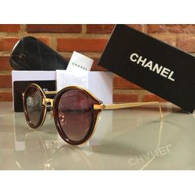 Oculos De Sol Chanel Marrom - Óculos no Mercado Livre Brasil 06fe63435a