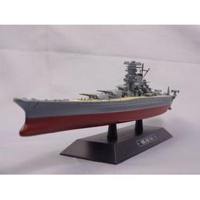 1:1100 Navio De Guerra Japonês Musashi 1942 - Eaglemoss 24cm