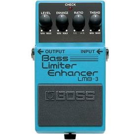 Pedal Para Contrabaixo Bass Limiter Enhacer Lmb-3 - Boss