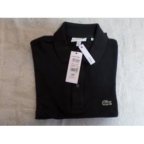 Playera Tipo Polo Lacoste Negra - Ropa, Bolsas y Calzado en Mercado ... 40da781672