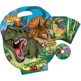 Livro Infantil Com Cd Ou Dvd Dinassauros 8 Valumes + Jogo