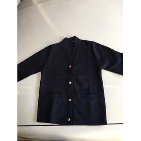 Suéter Escolar Para Mujer Color Azul Marino Talla 14-16-18