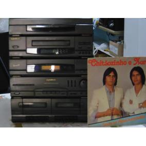 Som Gradiente Avanti 70 Toca Disco Cds Fitas Radio Am E Fm