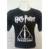 Camisa Harry Potter As Reliquias Da Morte (deathly Hallows)