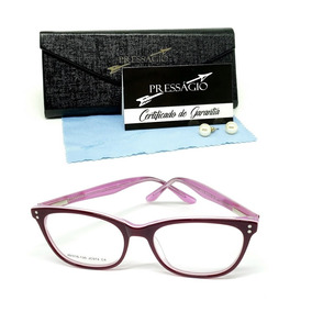 f25a77c6b Óculos Armação De Grau Infantil Menina Acetato Psg Jc-974