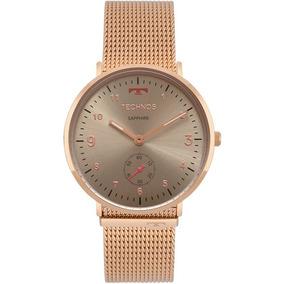 Relogio Technos Slim Ultra Fino Feminino - Relógios De Pulso no ... fb75eeaf07