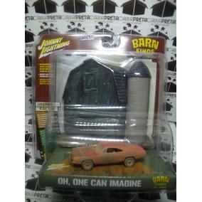 Johnny Lightning Diorama General Lee Barn Finds 1/64 Dodge