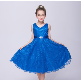 Vestido Renda Infantil Juvenil Daminha Casamento Debutante