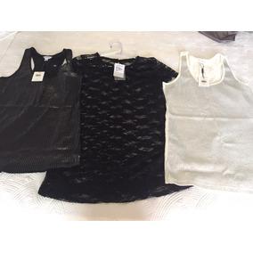 Kit 3 Blusas Novas Shop126 Calvin Klein Tam P