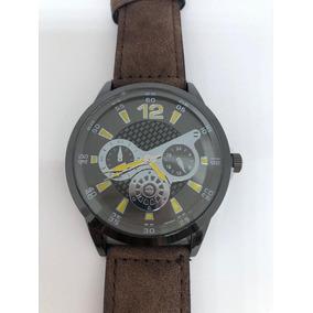 31d8027efd2 Moda Quartzo Relógio De Couro Militar - Relógios no Mercado Livre Brasil