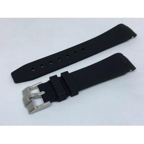 Correas Horus Para Rolex Caucho Color Negro