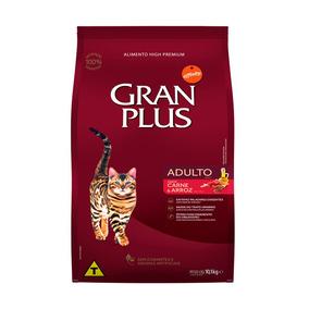 Ração Granplus Para Gatos Adultos Sabor Carne E Arroz - 10,1