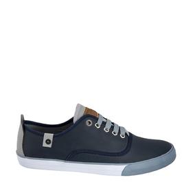 Tenis Choclopepe Jeans Color Marino Sintetico Ng648 A