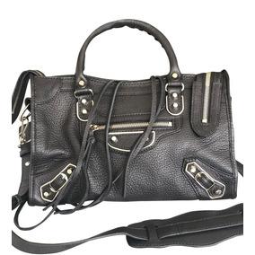 Bolsa Balenciaga Original City Nano Grained Calfskin Leather