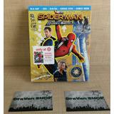 Spider-man Homecoming Blu Ray Película Hombre Araña Stock