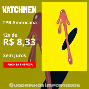 Watchmen Dc Comics Tpb Import Inglês Alan Moore Dave Gibbons